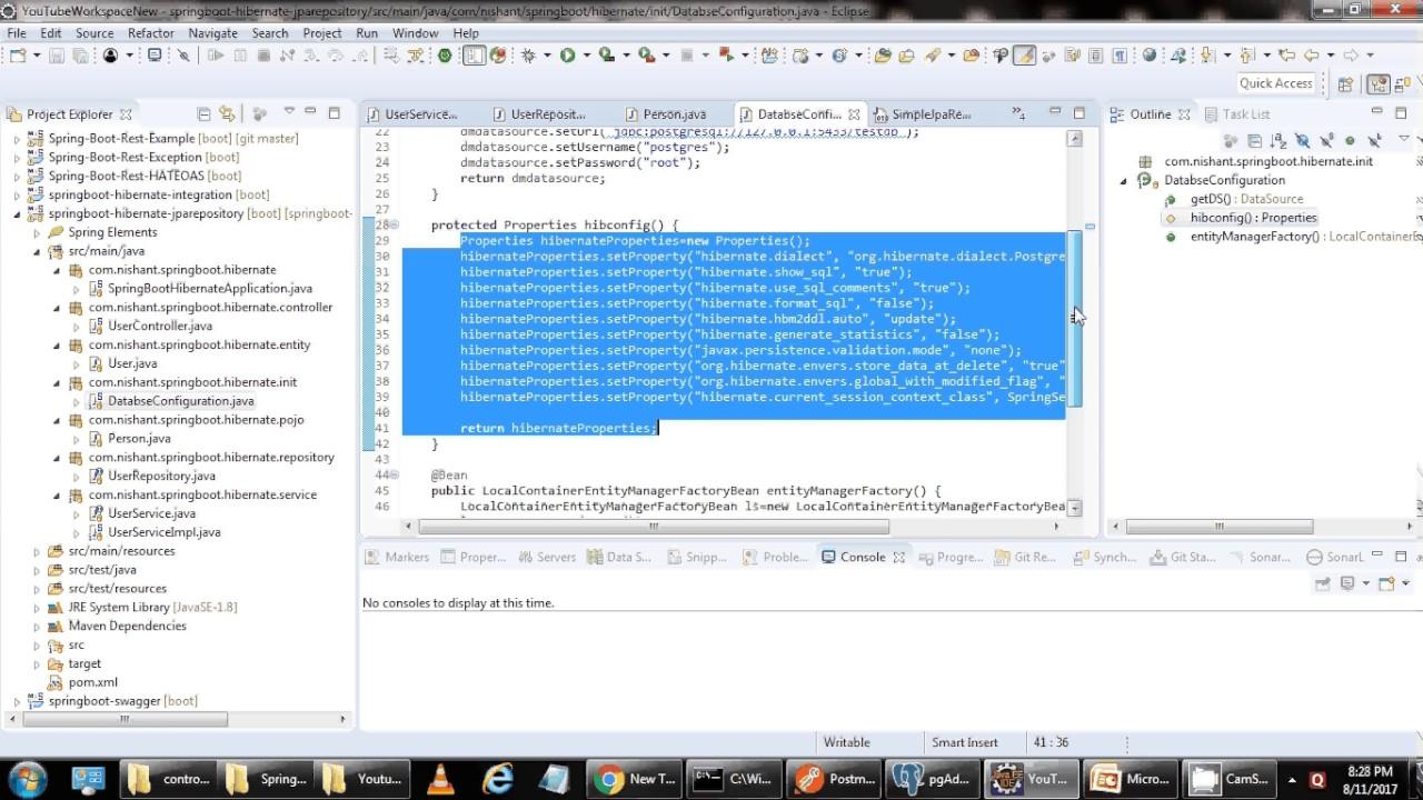 7 Spring Boot Hibernate Using JPA Repository,@Query
