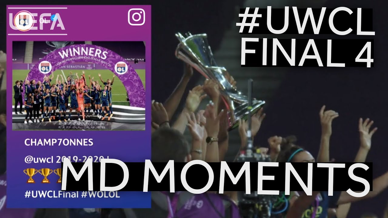 #UWCL FINAL 4 Matchday Moments: LYON lift their seventh title!