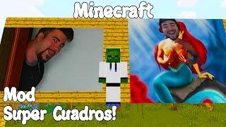 Minecraft 1.10.2 MOD SUPER CUADROS! Imaginary Mod Español!