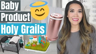 10 HOLY GRAIL BABY PRODUCTS FIRST YEAR   Baby Registry Must Haves 2020   Best Baby Products