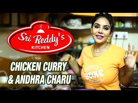 Sri Reddy's Mood Swings, Chicken Curry And Andhra Charu | Sri Reddy Official