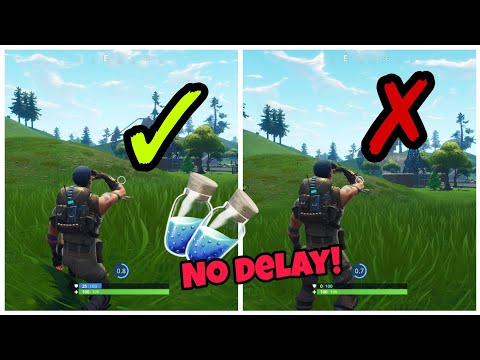 Drink Mini Shields Without Delay (working) Fortnite Glitches Season 5 PS4/Xbox one 2018