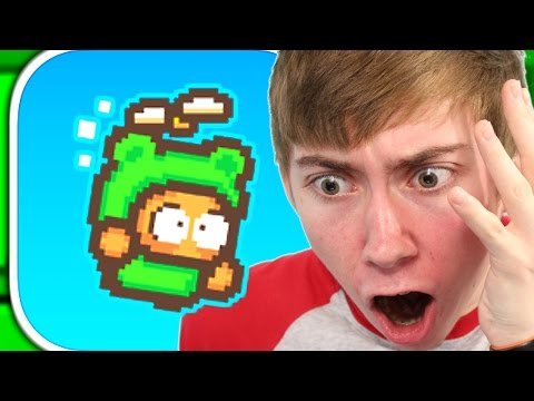 SWING COPTERS 2 :: A BRAND NEW HELL FROM FLAPPY BIRD CREATOR (iPhone Gameplay Video)