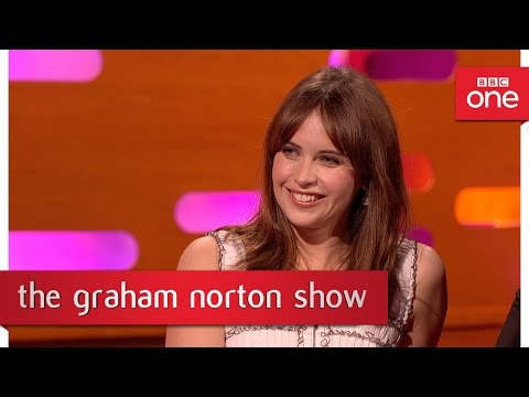 A Star Wars fan has a tattoo of Felicity Jones on his leg - The Graham Norton Show 2016 – BBC One