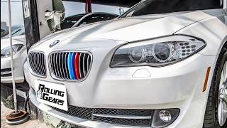 """Rolling-Gears/RG: BMW F10/F11 5 Series """"5-layer Painted"""" M-Color Grill Cover (12 Bars)"""