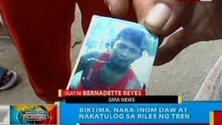 BP: Lalaki sa Makati, patay nang masagasaan ng tren ng PHL Nat'l Railways