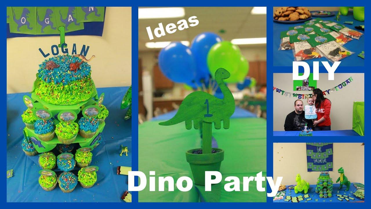 Dino Party Photos Of My Sons 1st Birthday DIY