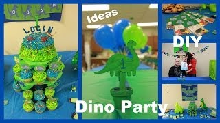 Dino Party - Photos Of My Son's 1st Birthday Party - Diy