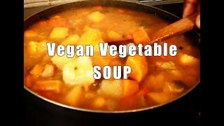 Vegan Vegetable SOUP -   Chef Ricardo Cooking
