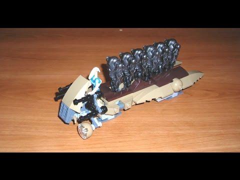 Lets Build Super Battle Droid Carrier Lego Star Wars Moc Youtube