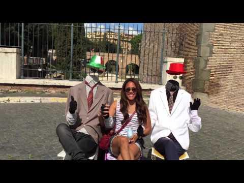 Alex Scott scottiecam goes to Rome