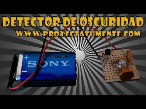 Como Hacer un Detector de Oscuridad (Electrónica en casa)