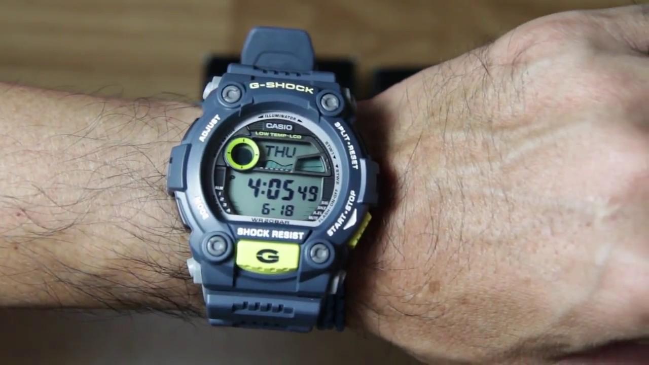 57856aee7526 Casio G-shock G-7900-2 Unboxing - YouTube