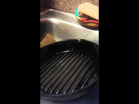 Sarten de hierro con oxido youtube - Quitar oxido hierro ...