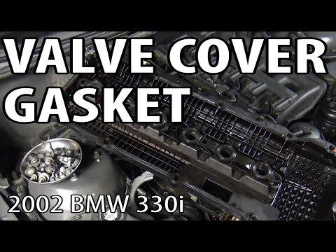 BMW 330i 325i E46 Valve Cover Gasket Replacement