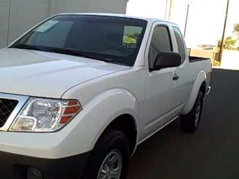 N5729 2009 Nissan Frontier White Yuma Az Youtube