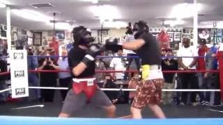 AMAZING SPARING CHAVEZ JR VS VANES MARTIROSYAN ! HD