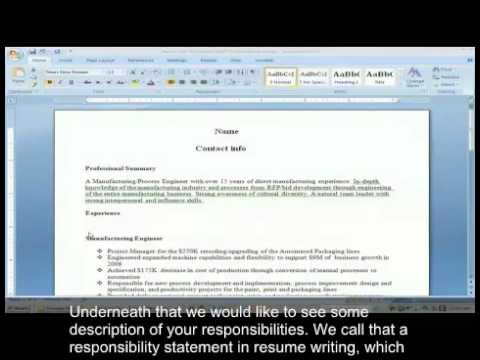 How to Write an Engineering CV (with subs) - YouTube