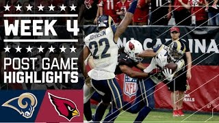 Rams vs. Cardinals   NFL Week 4 Game Highlights