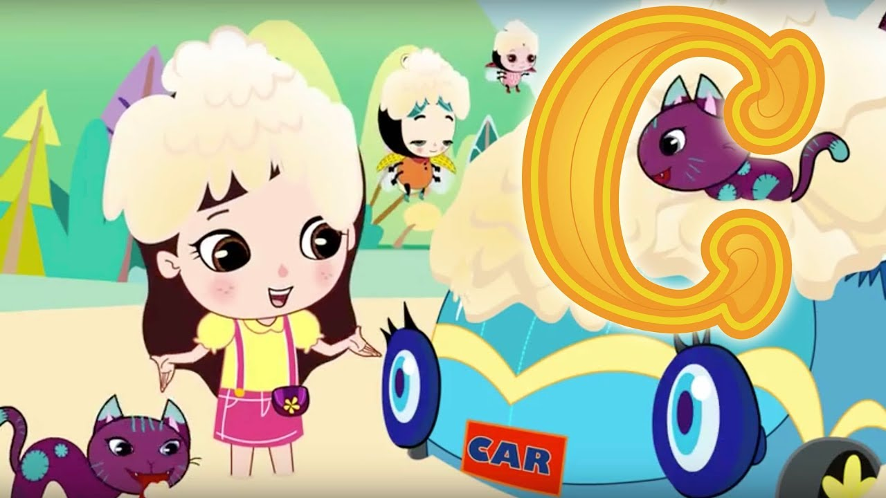 Download Letter C - Olive and the Rhyme Rescue Crew | Learn ABC | Sing Nursery Songs