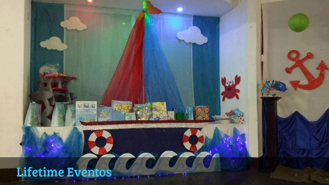 Baby Shower De Marinero