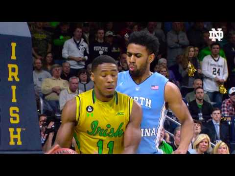 IRISH ACCESS: @NDmbb 80 - #2 North Carolina 76