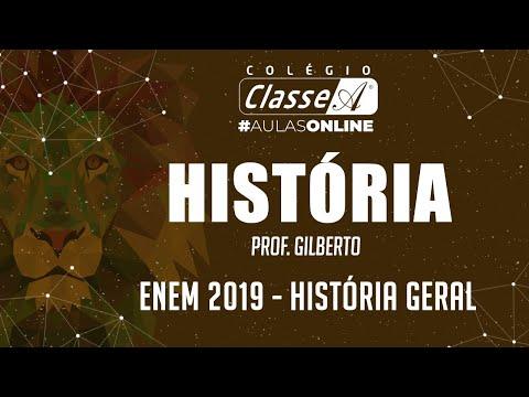 RESOLUÇÃO DO ENEM 2019 - História