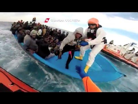 Mediterranean Sea migrant rescue | Soccorso migranti sul Mediterranean