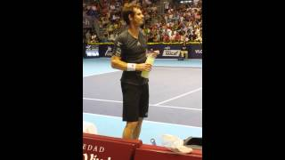 Andy Murray angry!