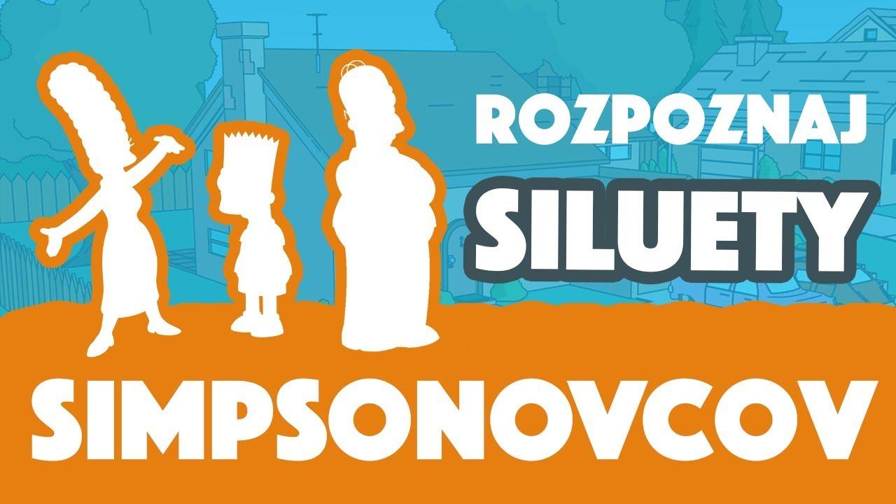 Rozpoznáš všetky siluety Simpsonovcov?