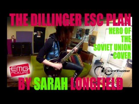 Dillinger Escape Plan Hero of the Soviet Union Cover - Sarah Longfield mp3