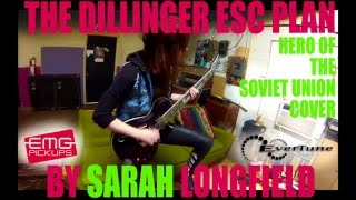 Dillinger Escape Plan Hero of the Soviet Union Cover - Sarah Longfield