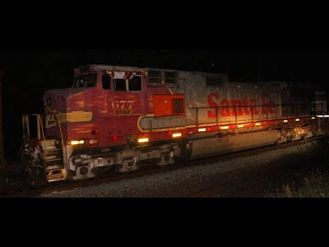 Late August Railfanning 8/26-29/2016: Nighttime Trains, Foreign Power, Santa Fe & More!