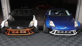 FINISHING MY 350Z! Widebody & Fluid Coolers