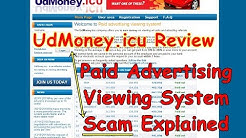 UdMoney.icu Review | Paid Advertising Viewing System Scam Explained