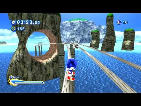 Sonic Adventure Generations – Emerald Coast Act 2