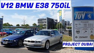 V12 BMW E38 750iL Restoration - Project Dubai: The Battle - Part 4