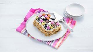 Kijk Slagroom-versier-taart filmpje