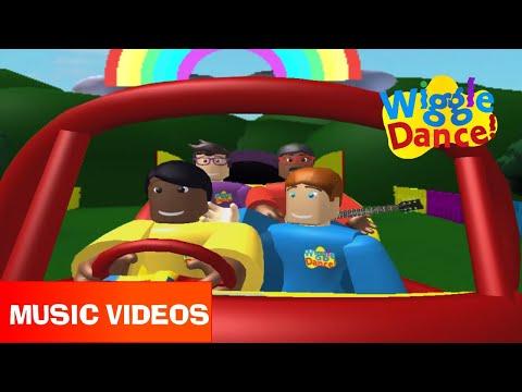 WiggleDance! Toot Toot Trailer - Toot Toot Chugga Chugga Big Red Car!