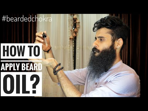How and When to apply Beard Oil?
