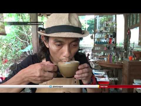 NET YOGYA - Warga Bantul Ciptakan Alat Pembuat Espresso Manual