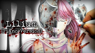 Elfen Lied Theme Song - Lilium (Piano Edition) + Anime Drawing