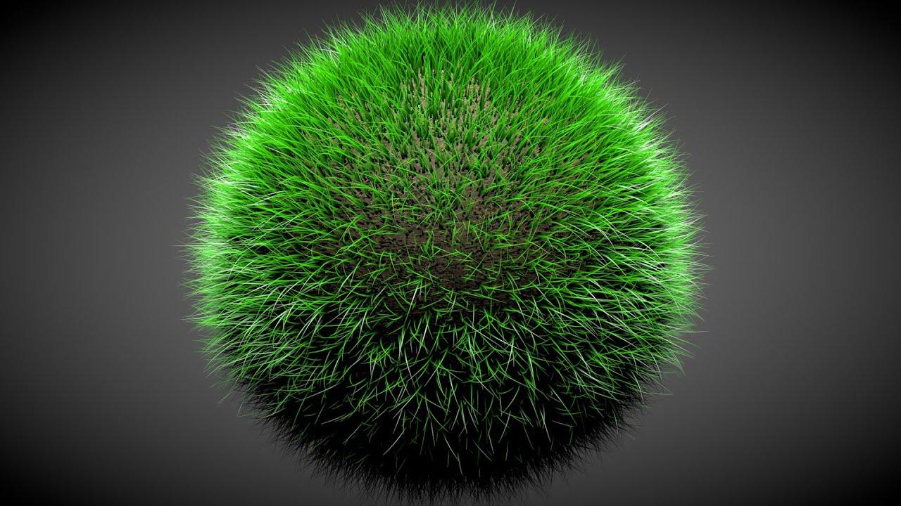 Cinema 4d Grass Ball Quick Tutorial Youtube