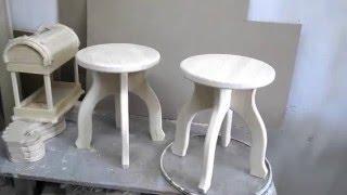 Самый простой кухонный табурет, своими руками.(Изготовление кухонного табурета в домашних условиях. Проще не бывает! Описания и размеры, вы можете посмотр..., 2015-12-06T19:15:48.000Z)