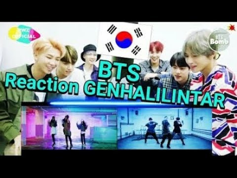 New!! BTS Reaction To Gen Halilintar - MIC Drop MV Cover