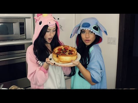 HOW TO MAKE A PIZZA CAKE ft. Julia Kelly