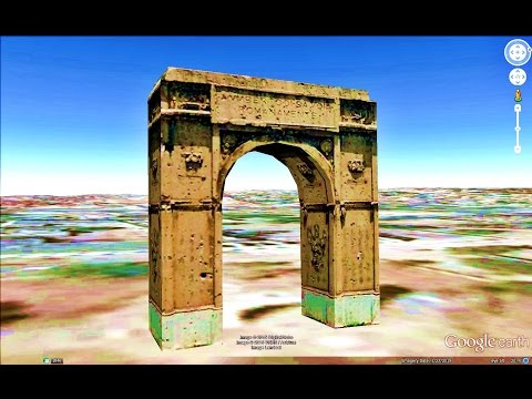 HISTORICAL PLACES OF SOMALIA IN GOOGLE EARTH