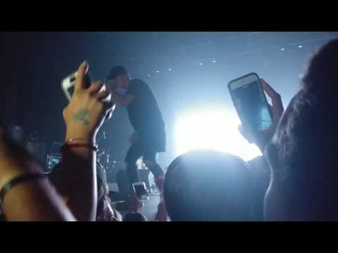 NF kicks fans out of concert, Fan slaps Security + Vibin