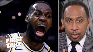 Stephen A.: 'Let me put all of this noise about LeBron James to rest' | First Take