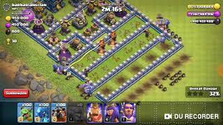 Coc all troops vs difficult defence